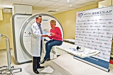 badania-w pracowni rezonansu magnetycznego fot.T.Czachorowski