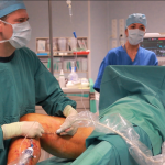 dr Molski w trakcie zabiegu ablacji SVS