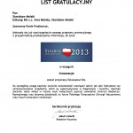 List Gratulacyjny - Eskulap