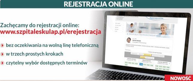 Nowość: Rejestracja online, Ty wybierasz!